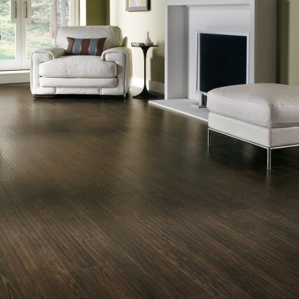 Rustics 5 x 47 x 12mm Ash Laminate Flooring in Homestead Plank Prairie Brown by Armstrong Flooring