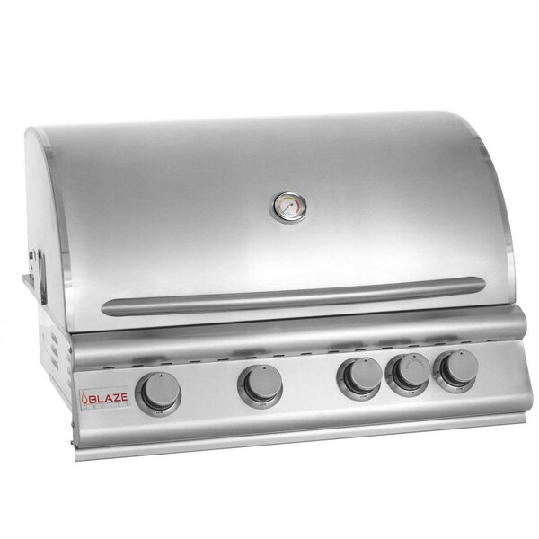 4-Burner Built-In Propane Gas Grill by Blaze Grills