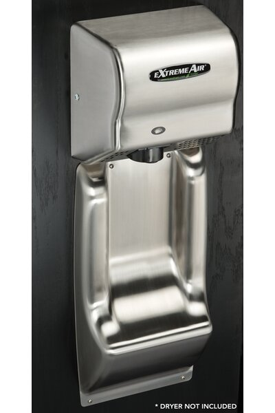 Wall Guard in Stainless Steel by American Dryer