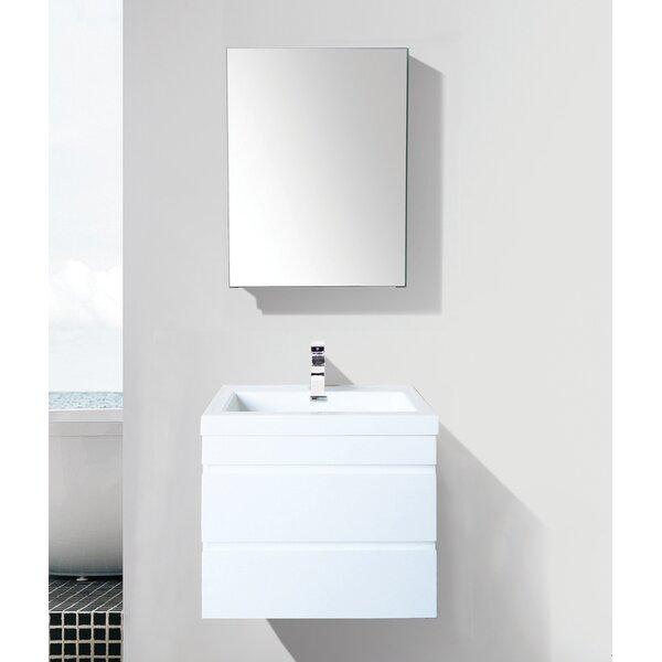 Mancilla 24 Wall-Mounted Single Bathroom Vanity Set by Orren Ellis