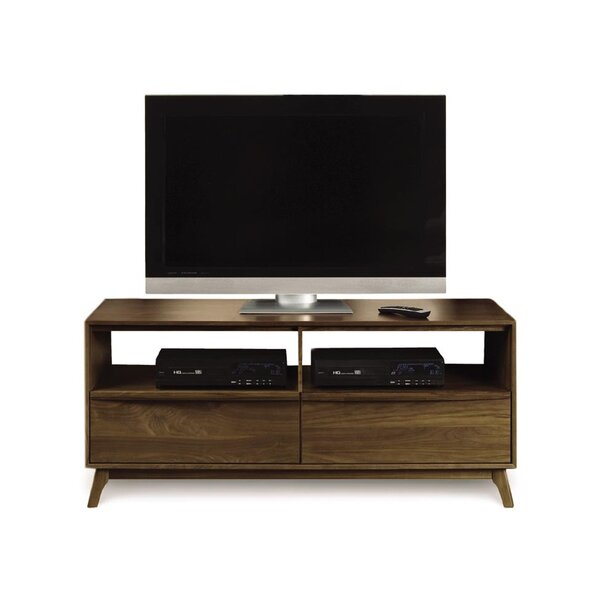 Catalina Solid Wood TV Stand For TVs Up To 75