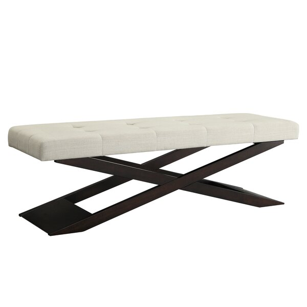 Lani Wood Bench by Zipcode Design