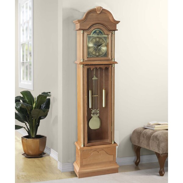 Traditional 72 Floor Standing Grandfather Clock by Alcott Hill