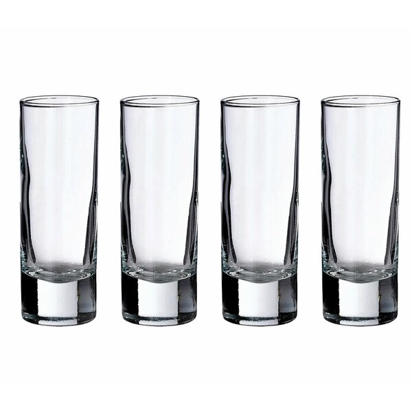 2 Oz. Tall Shot Glass (Set of 4) by Lillian Rose