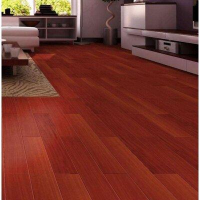 """3-3/4"""" Solid Santos Mahogany Hardwood Flooring Welles Hardwood"""