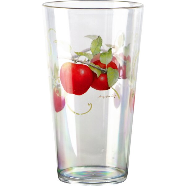 Harvest Apple Acrylic 19 oz. Ice Tea Glass (Set of 6) by Corelle