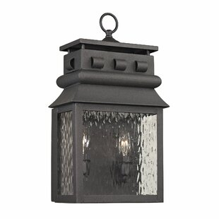 Reviews Crepeau 2-Light Outdoor Wall Lantern By Bloomsbury Market