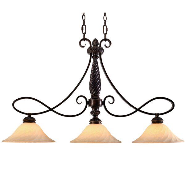 Hoopeston 3-Light Kitchen Island Pendant by Darby Home Co