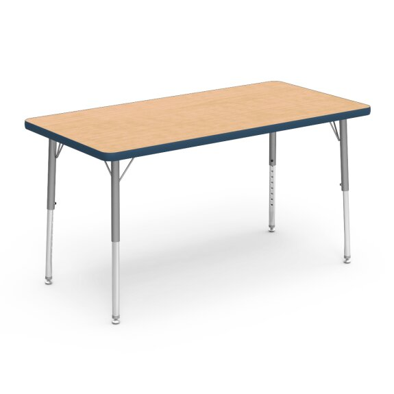 4000 Series 48 x 24 Rectangular Activity Table by Virco