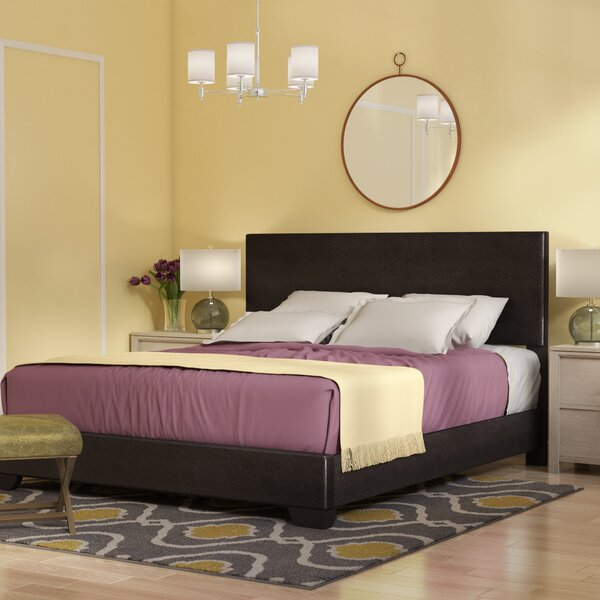 Sibilla Upholstered Panel Bed by Andover Mills