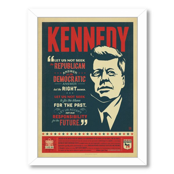 Kennedy Framed Vintage Advertisement by East Urban Home