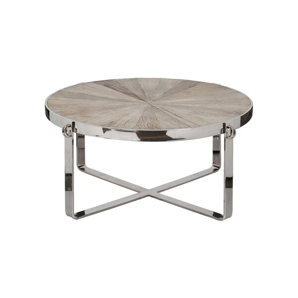 Kathleen Coffee Table By Rosecliff Heights