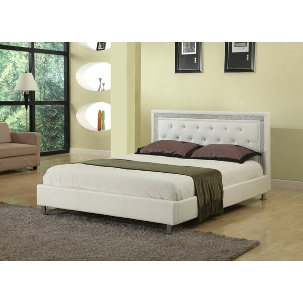Great price Elliana Upholstered Platform Bed By Willa Arlo Interiors Coupon