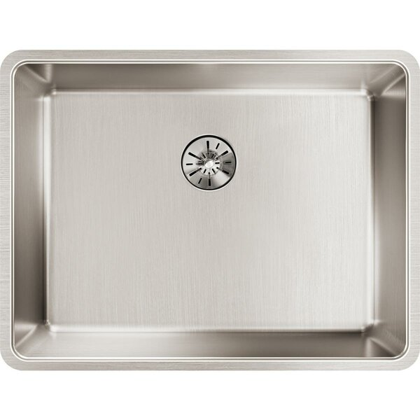 Lustertone Iconix Stainless Steel 24 x 18 Undermount Kitchen Sink with Perfect Drain by Elkay
