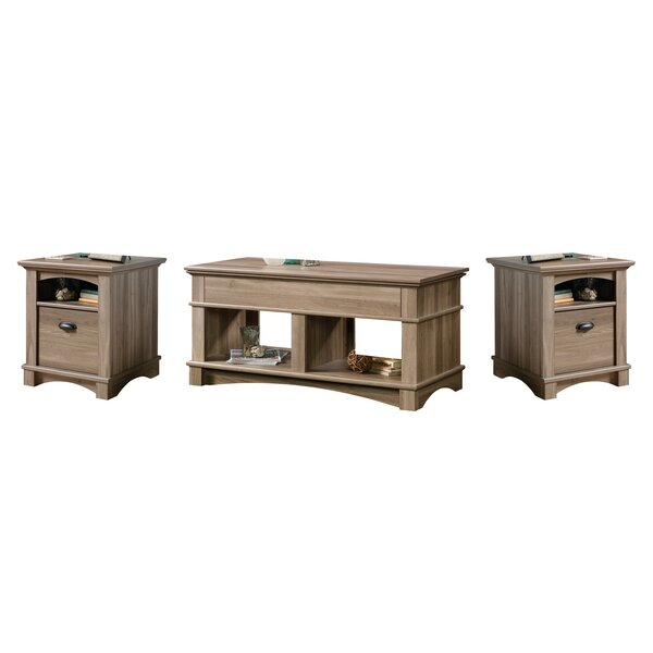 Mcabee 3 Piece Coffee Table Set By Highland Dunes
