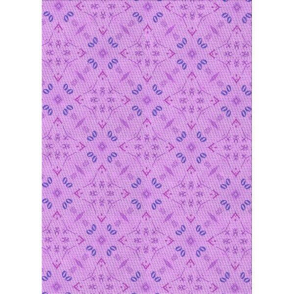 Wool Purple/Blue Area Rug