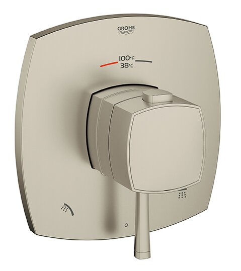 Grandera Thermostatic Faucet Trim by Grohe