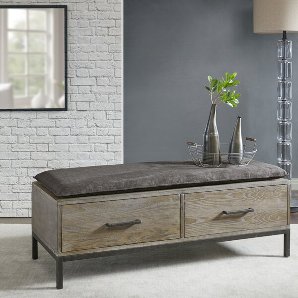 Purgatoire Valley Storage Bench by Laurel Foundry Modern Farmhouse