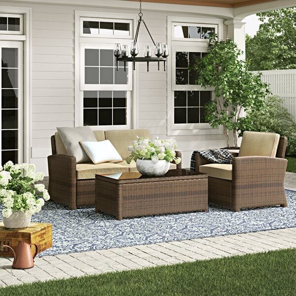 Lawson 3 Piece Sofa Set with Cushions by Birch Lane™ Heritage