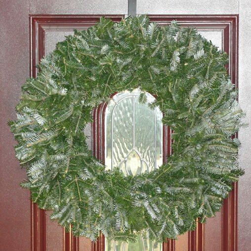 24 Natural Fraser Fir Wreath by The Holiday Aisle