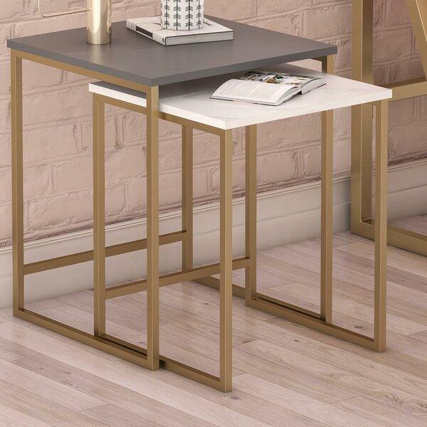 Buy Sale Scarlett 2 Piece Nesting Tables