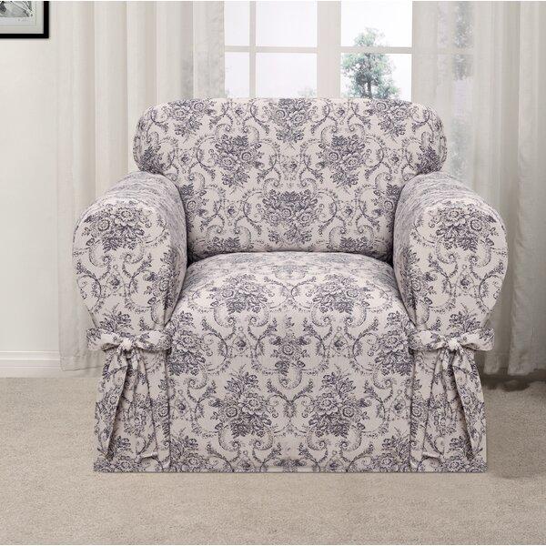 Box Cushion Armchair Slipcover By One Allium Way