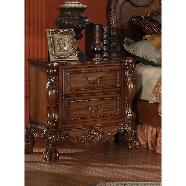 Selma 2 Drawer Nightstand By Astoria Grand