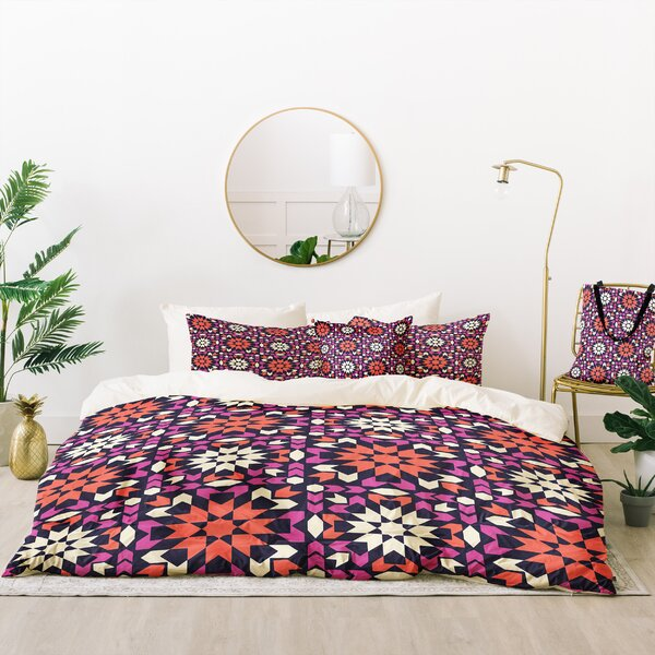 Zoe Wodarz Sunset Arrow Tile Duvet Cover Set