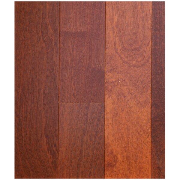3-1/2 Engineered African Mahogany Hardwood Flooring in Natural by Easoon USA
