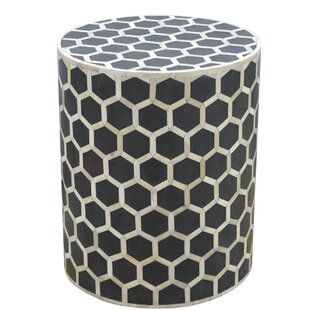 Merveilleux Zacharias End Table With Mother Of Pearl Inlay