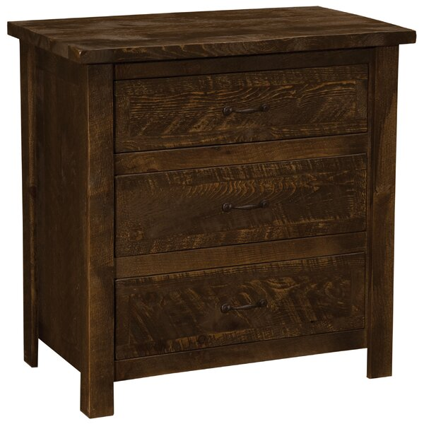 Devereaux 3 Drawer Bachelors Chest by Union Rustic