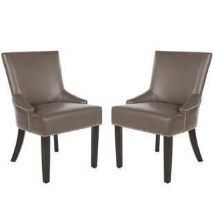 Genuine Leather Kitchen & Dining Chairs You\'ll Love   Wayfair
