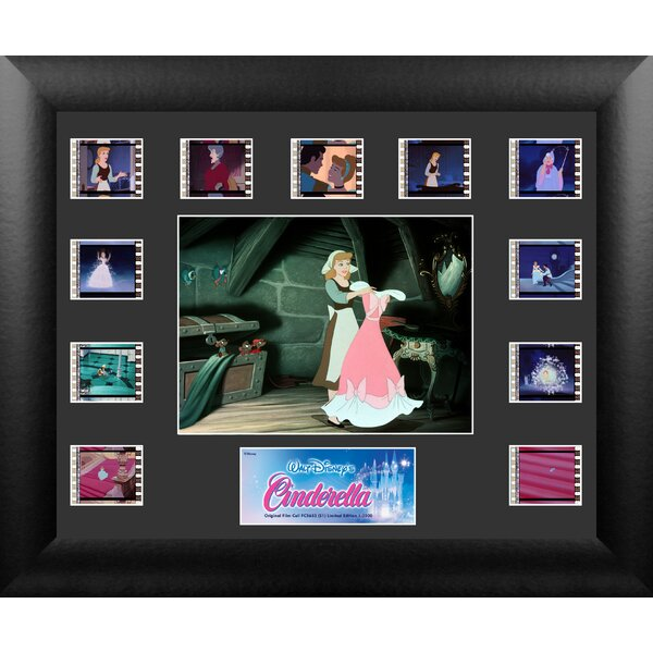 Cinderella Mini Montage FilmCell Presentation Framed Vintage Advertisement by Trend Setters