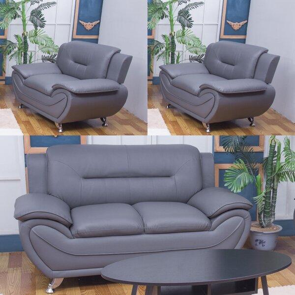 Gilmour 3 Piece Living Room Set By Orren Ellis