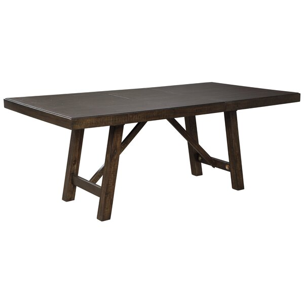 Chapdelaine Solid Wood Dining Table by Gracie Oaks