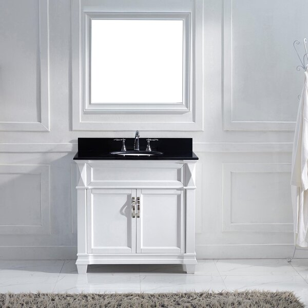 Kace 37 Single Bathroom Vanity Set with Mirror by Darby Home Co