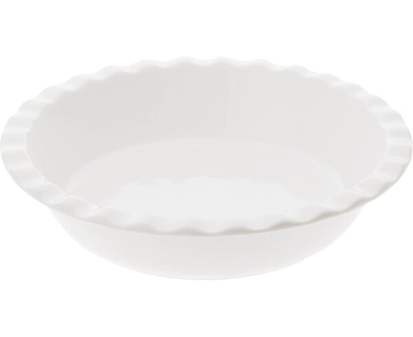 White Basics Pie Dish (Set of 2) by Maxwell & Williams