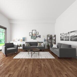 Pulaski 3 Piece Velvet Living Room Set by Wade Logan®