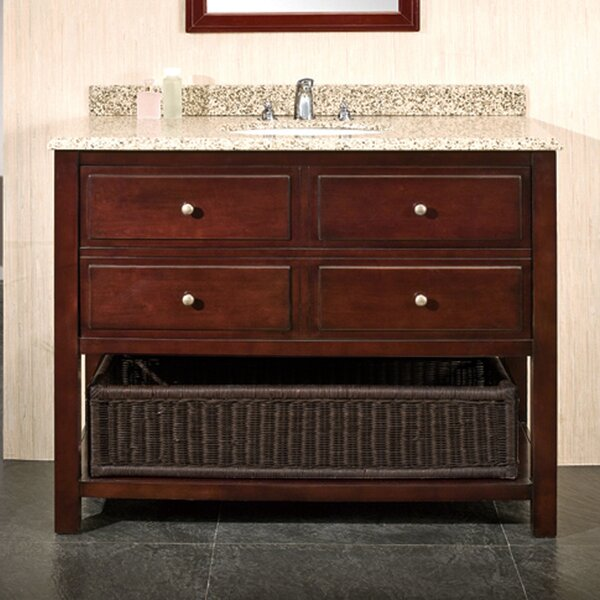Berlin 42 Single Bathroom Vanity Set by Ove Decors