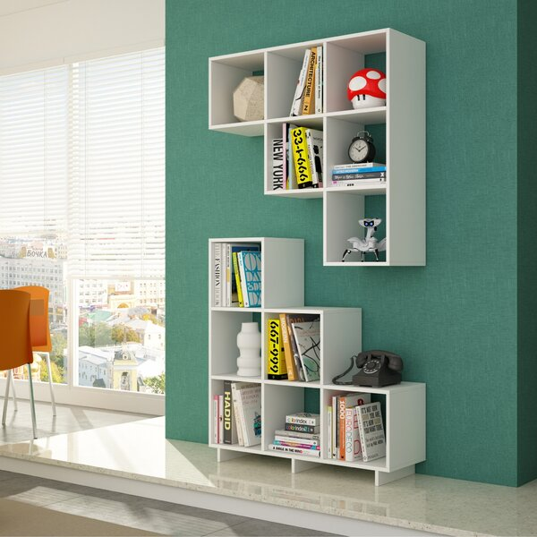 Cleo Cube Unit Bookcase (Set of 2) by Latitude Run