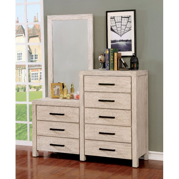 Mcmillion 8 Drawer Dresser with Mirror by Gracie Oaks
