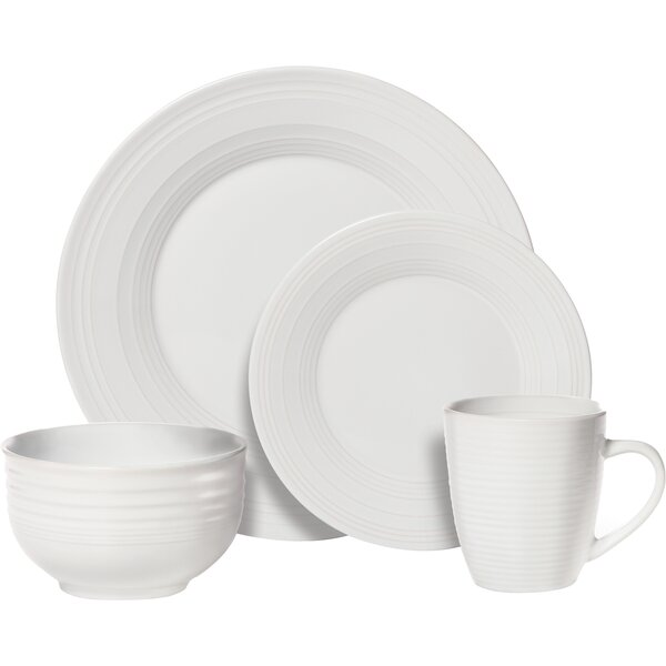 Sierra Everyday 16 Piece Dinnerware Set, Service for 4 by Pfaltzgraff