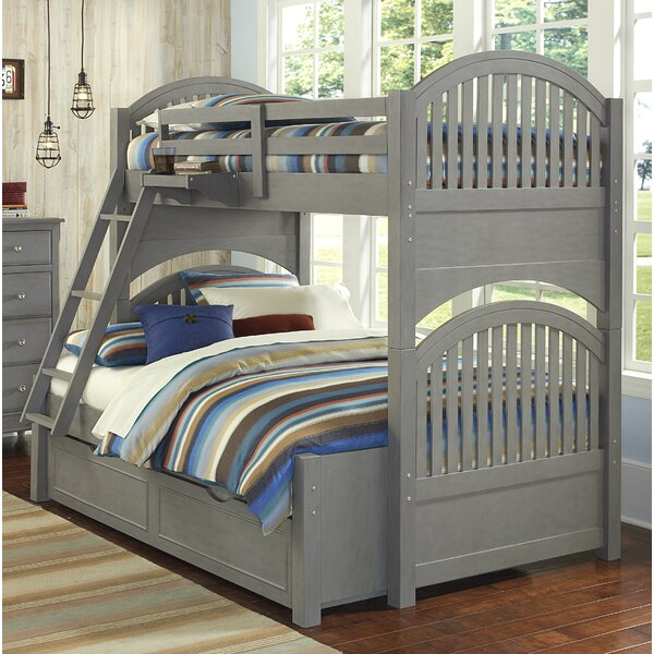 Javin Twin Over Full Bunk Bed with Trundle by Harriet Bee