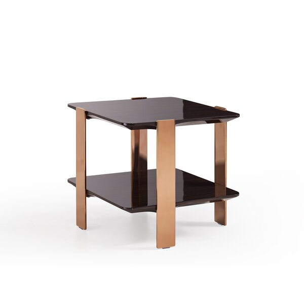 Trimble Modern End Table by Everly Quinn Everly Quinn
