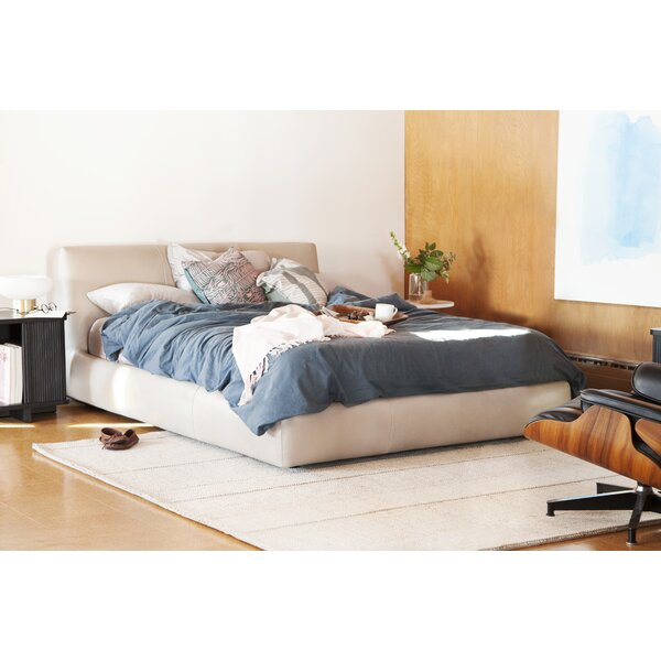 Cello Upholstered Storage Platform Bed by EQ3