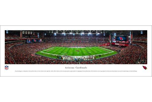 NFL Arizona Cardinals 50 Yard Line Photographic Print by Blakeway Worldwide Panoramas, Inc