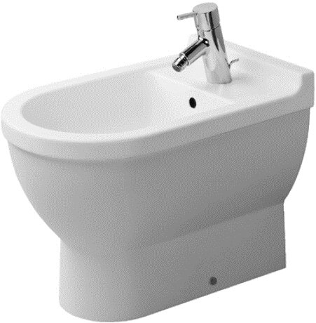 Starck 3 16.54 Floor Mount Bidet by Duravit