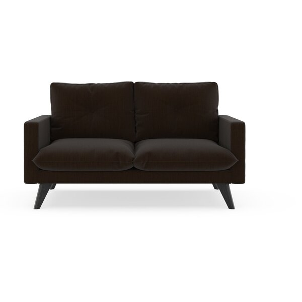 Crampton Satin Weave Loveseat by Corrigan Studio