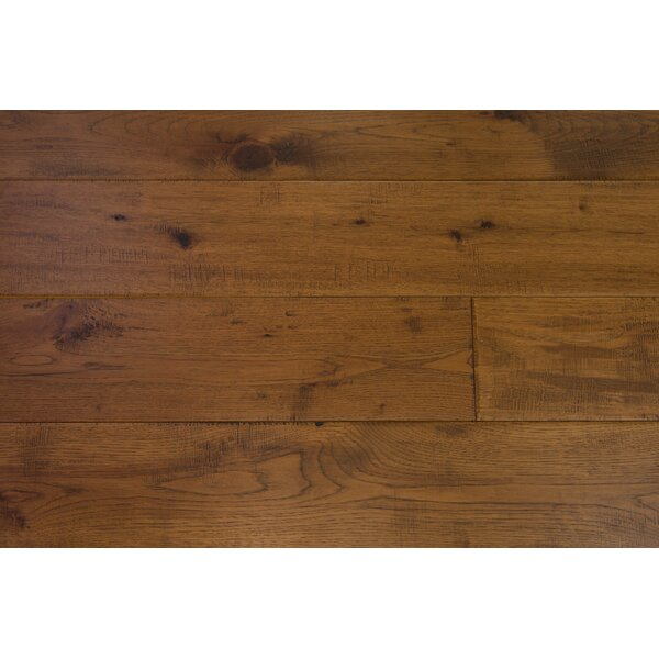 Barcelona 7-1/2 Engineered Hickory Hardwood Flooring in Seafront by Branton Flooring Collection
