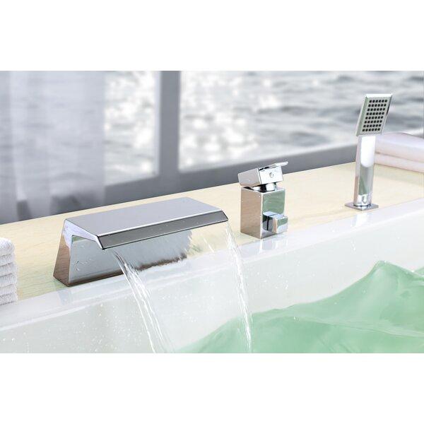 Single Handle Deck Mount Bath Tub Faucet by Sumerain International Group